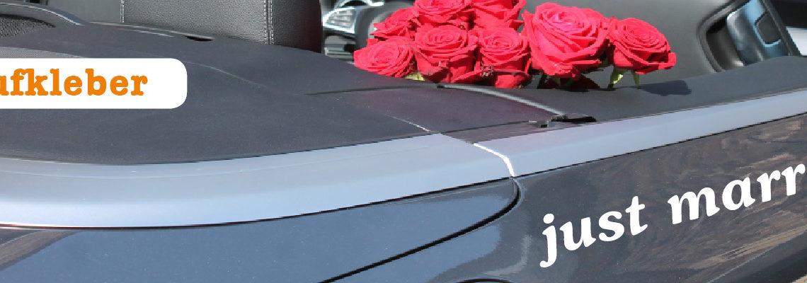 Aufklber für Autos