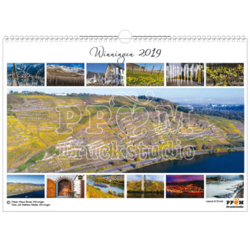 Den Kalender von Winningen können Sie jedes Jahr erhalten.