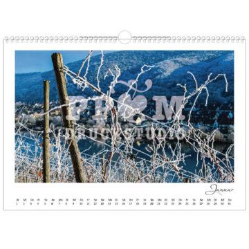 Kalender Winningen 2019 im Monat Januar