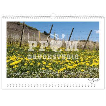 Kalender mit Weinber's Wegen um Winningen