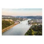 Luftbild von Koblenz