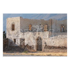 Verlassen Haus bei Kreta