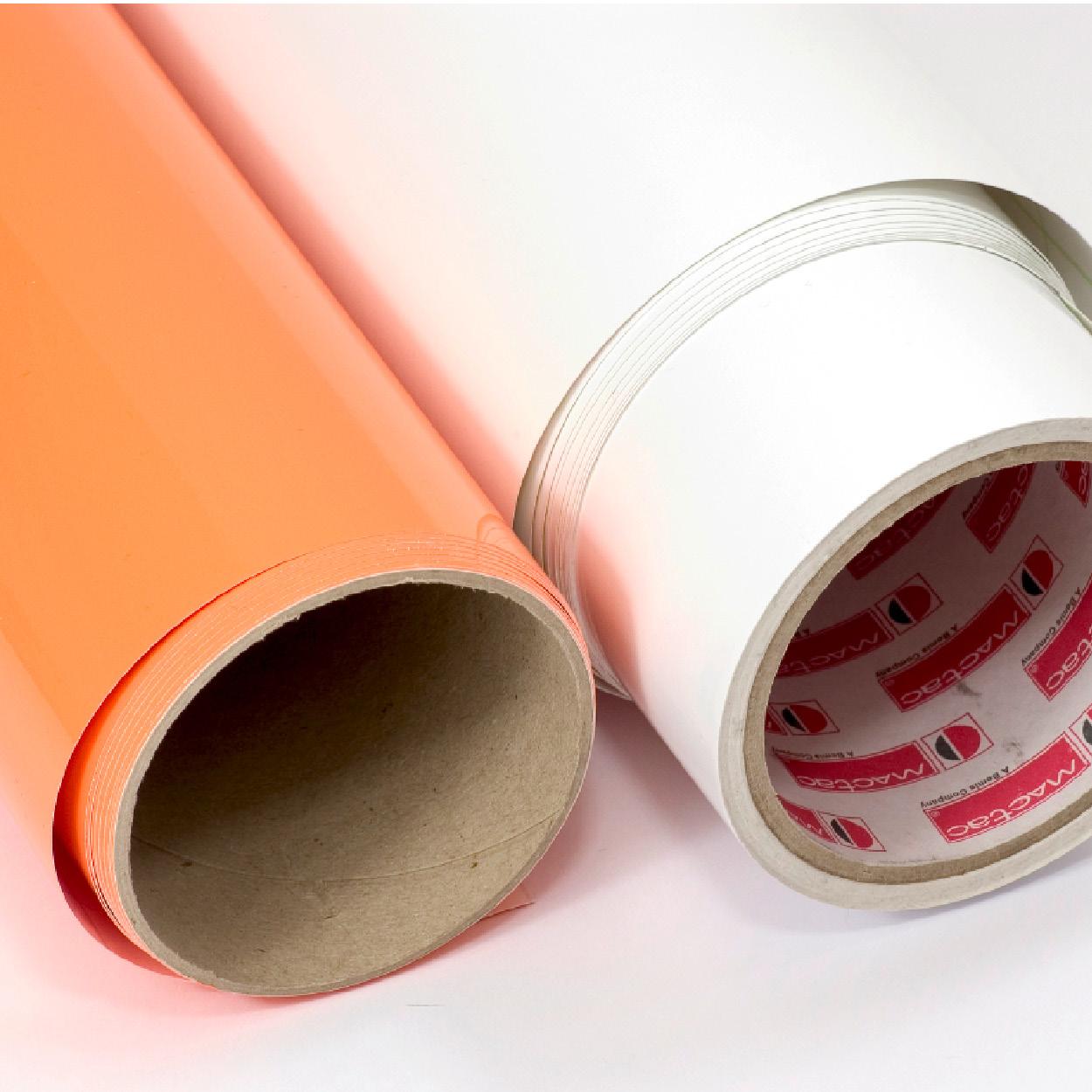 Folien für Klebebuchstaben