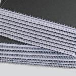 Bindungen von Metall Spiralen